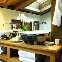Фотография: Ванная в стиле Скандинавский, Дом, Дома и квартиры, Городские места – фото на InMyRoom.ru