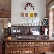 Фотография: Кухня и столовая в стиле Кантри, Лофт, Квартира, Терраса, Дома и квартиры, Лондон, Мансарда – фото на InMyRoom.ru