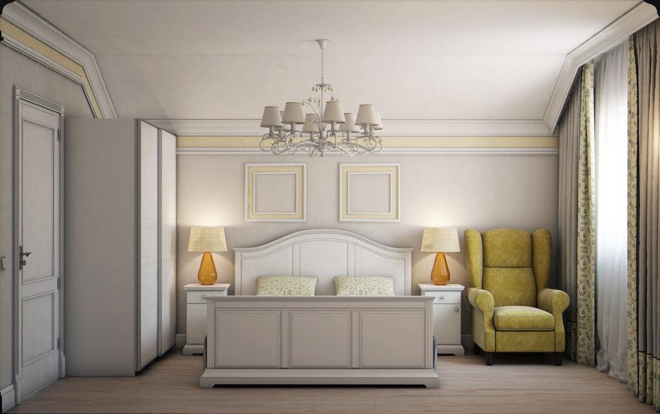 Фотография: Спальня в стиле Классический, Эклектика, Квартира, Проект недели, Марина Саркисян, Подмосковье – фото на InMyRoom.ru