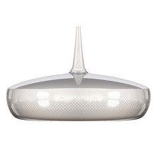 Плафон Clava Dine Steel серебристого цвета