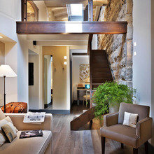 Фотография: Гостиная в стиле Лофт, Италия, Дома и квартиры, Городские места, Отель – фото на InMyRoom.ru