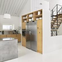 Фотография: Кухня и столовая в стиле Лофт, Эко, Декор интерьера, Квартира, Дом, Интерьер комнат, Цвет в интерьере, Белый – фото на InMyRoom.ru