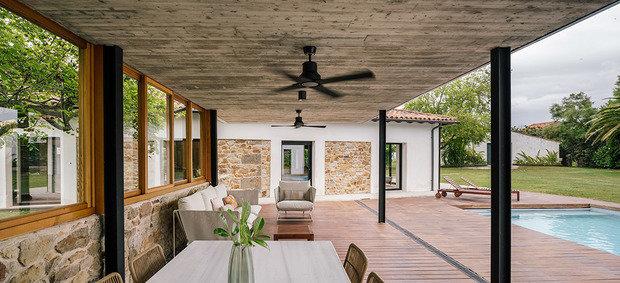 Фотография: Терраса в стиле Эко, Дом и дача – фото на INMYROOM
