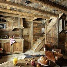 Фотография: Кухня и столовая в стиле Кантри, Дом, Дома и квартиры, Шале, Дом на природе – фото на InMyRoom.ru