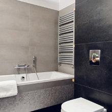 Фотография: Ванная в стиле Хай-тек, Декор интерьера, Квартира, Дома и квартиры, Польша – фото на InMyRoom.ru