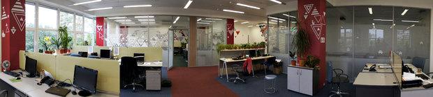 Фото из портфолио Оформление офиса WebSoft – фотографии дизайна интерьеров на INMYROOM