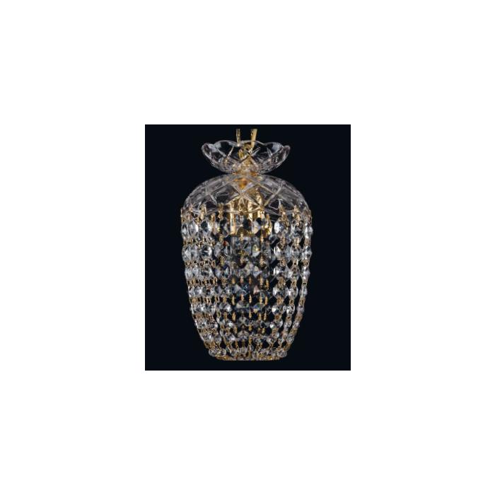 Подвесной светильник BOHEMIA IVELE с хрустальным плафоном декоративной формы