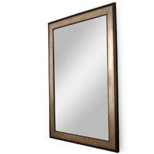 """Зеркало в Итальянской деревянной раме """"Коричневая Феррара"""""""