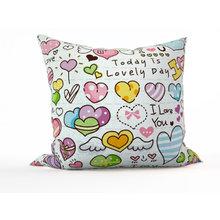 Декоративная подушка: Счастливый день