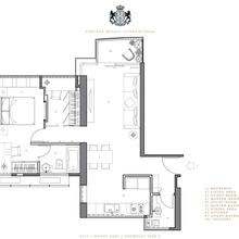 Фотография: Планировки в стиле , Современный, Малогабаритная квартира, Квартира, Дома и квартиры, Квартиры – фото на InMyRoom.ru