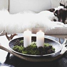 Фото из портфолио  Зимняя сказка- домик в лесу)) – фотографии дизайна интерьеров на InMyRoom.ru