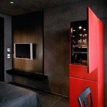 Фотография: Спальня в стиле Лофт, Дома и квартиры, Городские места – фото на InMyRoom.ru