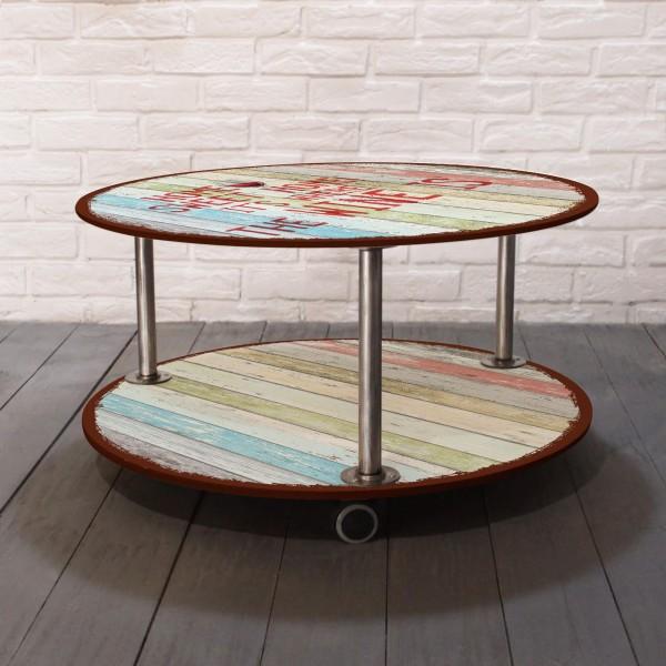 Купить со скидкой Журнальный столик Sweet Home на колесиках