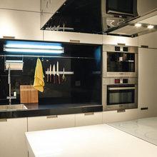Фотография: Кухня и столовая в стиле Минимализм, Квартира, Дома и квартиры – фото на InMyRoom.ru