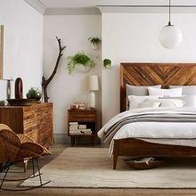 Фотография: Спальня в стиле Эко, Декор интерьера, Малогабаритная квартира, Советы – фото на InMyRoom.ru