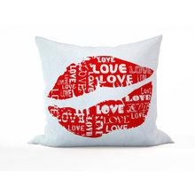 Декоративная подушка: Поцелуй любви