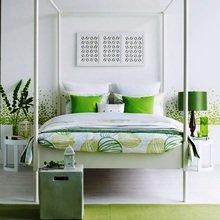Фотография: Спальня в стиле Восточный, Интерьер комнат, Цвет в интерьере, Советы – фото на InMyRoom.ru