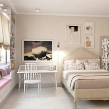 Фотография: Спальня в стиле Восточный, Эклектика, Квартира, Дома и квартиры, Надя Зотова – фото на InMyRoom.ru