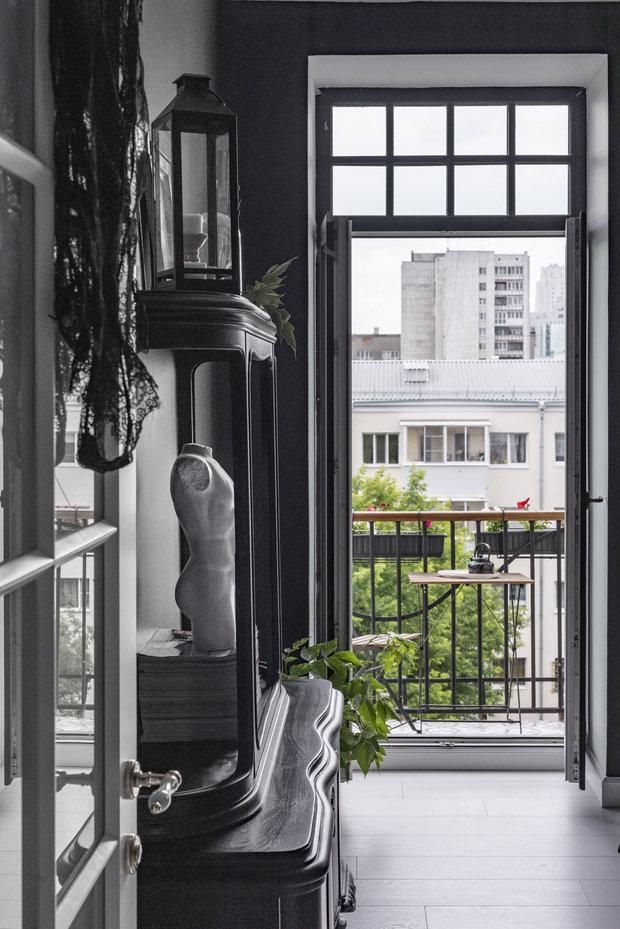 Фотография: Балкон в стиле Эклектика, Квартира, Проект недели, Екатеринбург, Сталинка, 3 комнаты, 60-90 метров, Ольга Минуллина – фото на INMYROOM