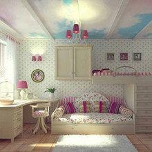 Фотография: Детская в стиле Кантри, Современный, Интерьер комнат, Часы – фото на InMyRoom.ru