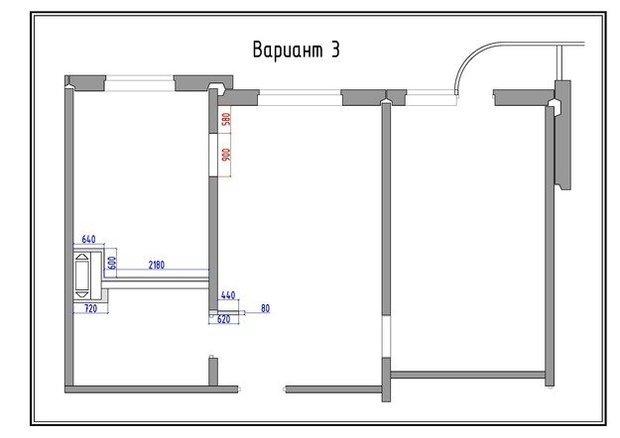 Фотография: Прочее в стиле , Квартира, Дома и квартиры, Перепланировка, П-3М – фото на InMyRoom.ru
