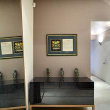 Фотография: Прихожая в стиле Современный, Квартира, Минимализм, Проект недели, Москва, новостройка, Антон Крылов, Монолитный дом, 3 комнаты, Более 90 метров – фото на InMyRoom.ru