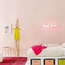 Фотография: Детская в стиле Скандинавский, Декор интерьера, Мебель и свет, Подсветка, Неон – фото на InMyRoom.ru