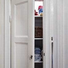 Фотография:  в стиле Скандинавский, Малогабаритная квартира, Квартира, Цвет в интерьере, Дома и квартиры, Белый, Гетеборг – фото на InMyRoom.ru