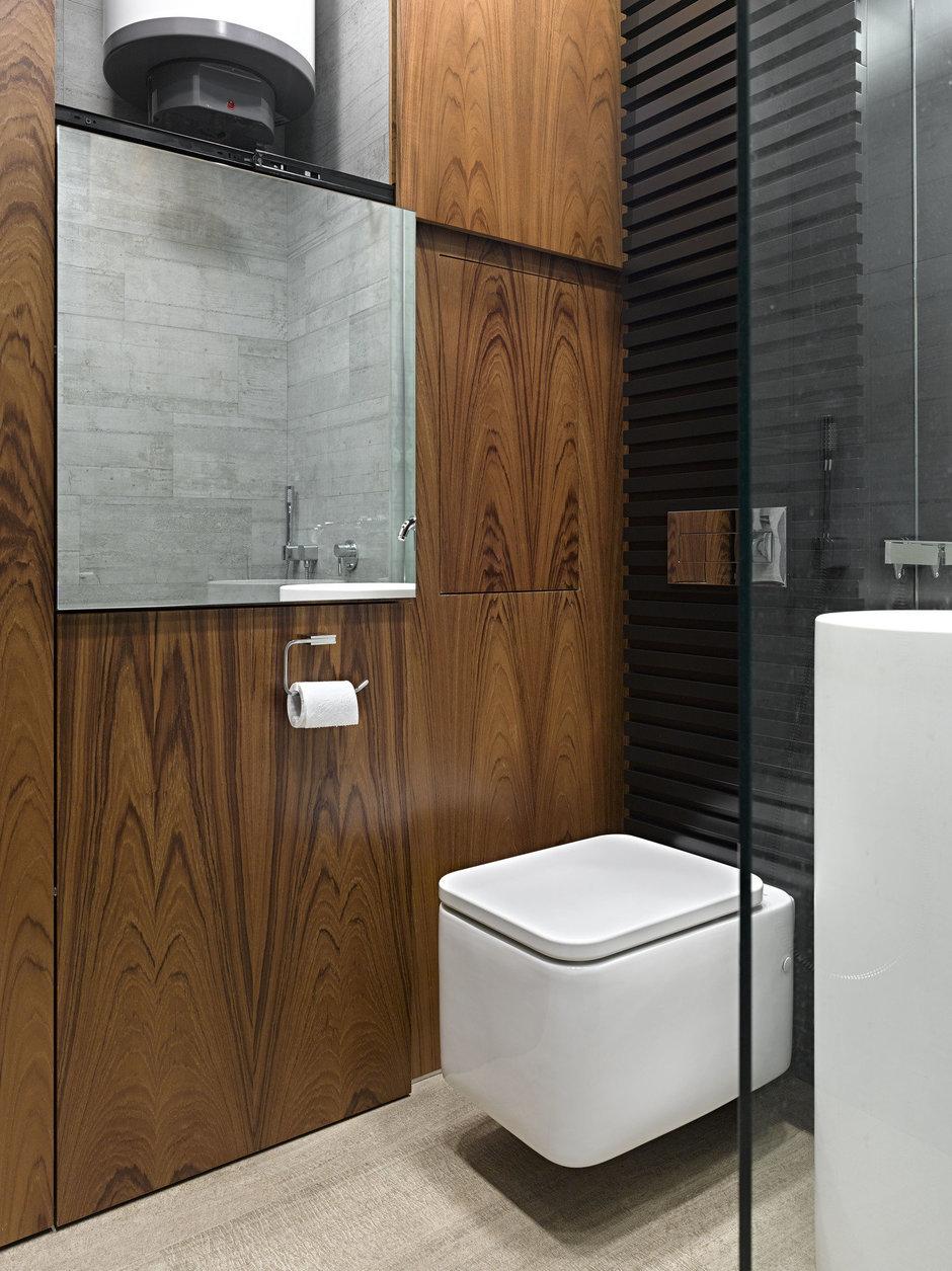 Фотография: Ванная в стиле Современный, Эко, Малогабаритная квартира, Квартира – фото на InMyRoom.ru