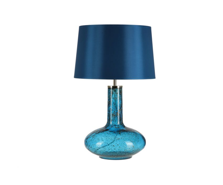 Купить Настольная лампа Crisbase с синим абажуром, inmyroom, Португалия