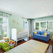 Фотография: Детская в стиле Современный, Дом, Дома и квартиры, Интерьеры звезд – фото на InMyRoom.ru