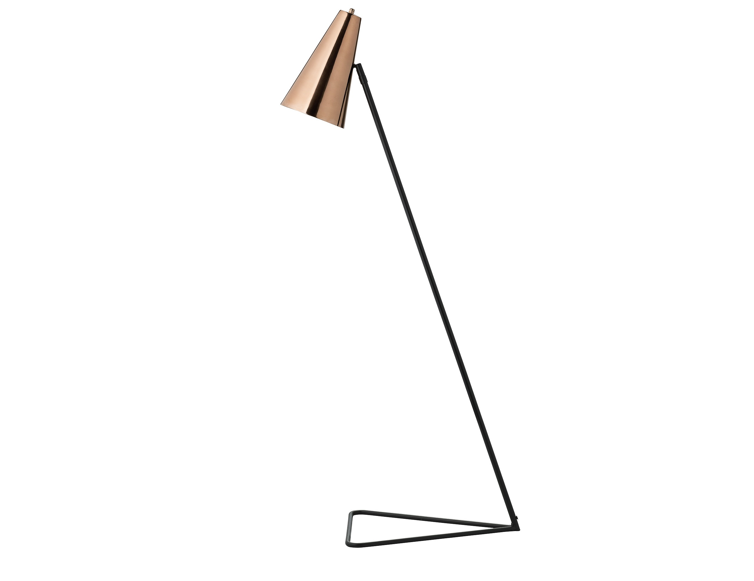 Купить Напольная лампа Cooper с абажуром цвета меди, inmyroom, Дания