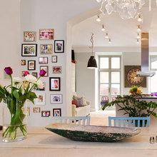 Фотография: Кухня и столовая в стиле Кантри, Скандинавский, Современный, Декор интерьера, Часы, Декор дома – фото на InMyRoom.ru