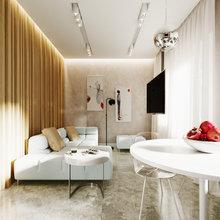 Фото из портфолио Проект 2-х комнатной квартиры – фотографии дизайна интерьеров на INMYROOM