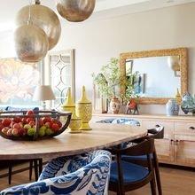 Фотография: Кухня и столовая в стиле Кантри, Восточный, Декор интерьера, Дом, Декор, Декор дома, Цвет в интерьере – фото на InMyRoom.ru