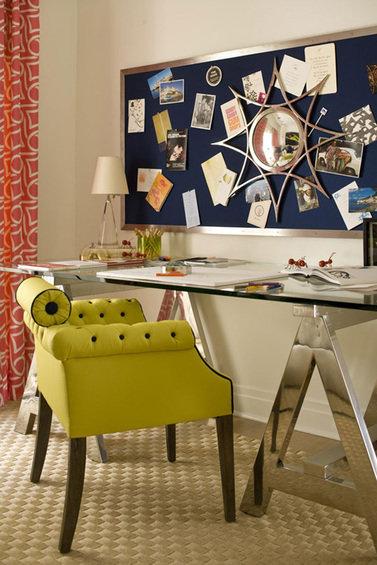 Фотография: Кабинет в стиле Эклектика, Интерьер комнат – фото на INMYROOM