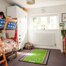 Фотография: Детская в стиле Скандинавский, Современный, Декор интерьера, Интерьер комнат, Цвет в интерьере, IKEA, Проект недели, Стены, Зеленый – фото на InMyRoom.ru
