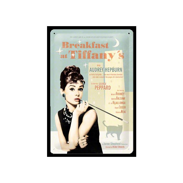 Табличка с тиснением - Завтрак у Тиффани