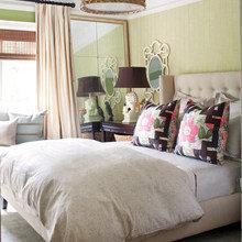 Фотография: Спальня в стиле Современный, Декор интерьера, Интерьер комнат, Цвет в интерьере – фото на InMyRoom.ru