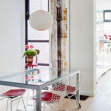 Фотография: Кухня и столовая в стиле Современный, Декор интерьера, Дом, Цвет в интерьере, Дома и квартиры, Белый, Картина – фото на InMyRoom.ru