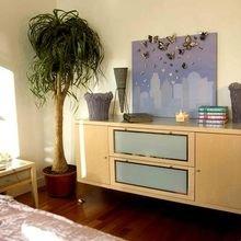 Фотография: Спальня в стиле Современный, Декор интерьера, Дом, Декор дома, Картина – фото на InMyRoom.ru