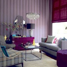 Фотография: Гостиная в стиле Эклектика, Декор интерьера, Дизайн интерьера, Мебель и свет, Цвет в интерьере – фото на InMyRoom.ru