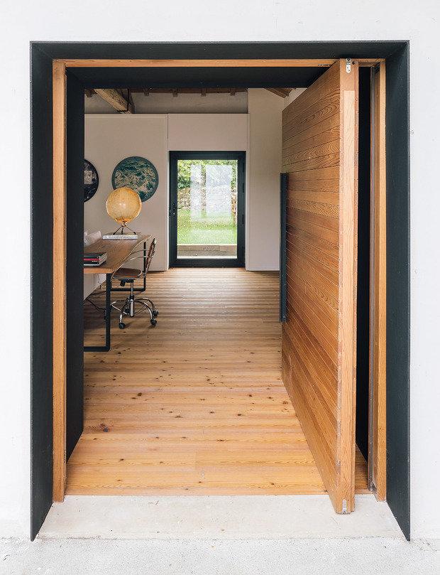 Фотография: Кабинет в стиле Скандинавский, Эко, Дом и дача – фото на INMYROOM