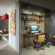 Фотография: Кабинет в стиле Лофт, Эко, Детская, Эклектика, Квартира, Дома и квартиры, Нью-Йорк – фото на InMyRoom.ru
