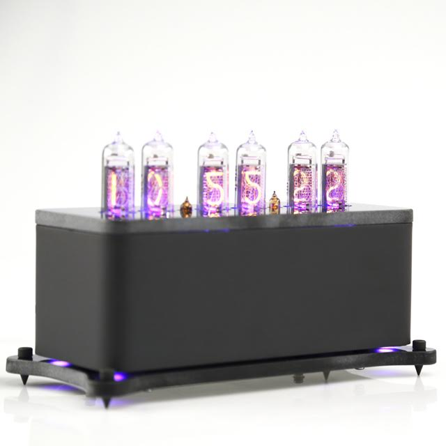 Ламповые часы Vacuumglow Levitation Deep Black
