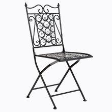 Складной стул «Риволи» (черный антик)