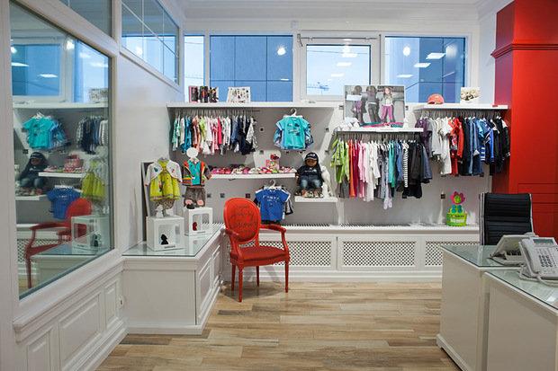 Фото из портфолио Офис бутик французской детской одежды CATIMINI – фотографии дизайна интерьеров на INMYROOM