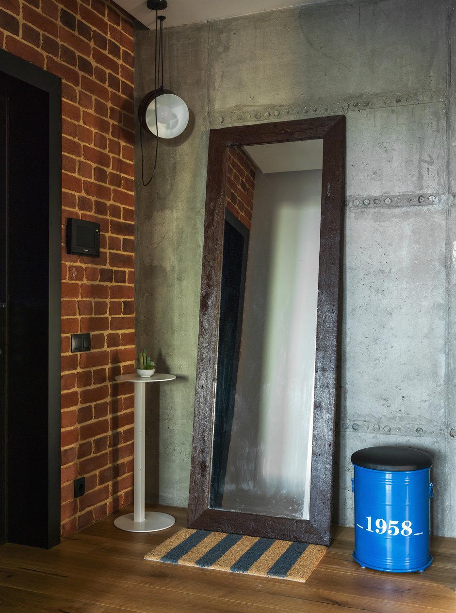 Фотография: Прихожая в стиле Лофт, Современный, Квартира, Проект недели, Geometrium, Монолитный дом, 2 комнаты, 60-90 метров, ЖК «Сколковский» – фото на InMyRoom.ru