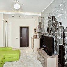 Фотография: Гостиная в стиле Современный, Квартира, Мебель и свет, Советы, Ремонт на практике – фото на InMyRoom.ru