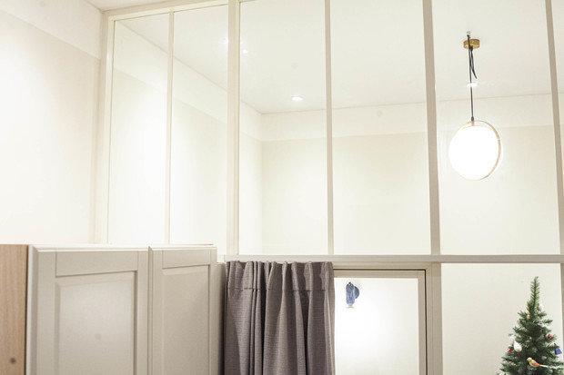 Фотография: Спальня в стиле Скандинавский, Лофт, Квартира, Проект недели, Санкт-Петербург, Кирпичный дом, 2 комнаты, 40-60 метров, VS-Buro, Валентина Щербакова – фото на INMYROOM